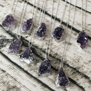 Jewelry - Grade AAA Amethyst necklace from Brazil